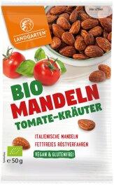 Landgarten Mandeln Tomate-Kräuter 50g