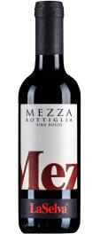 LaSelva MEZZA BOTTIGLIA - Vino Rosso da Tavola 0,375l Bio