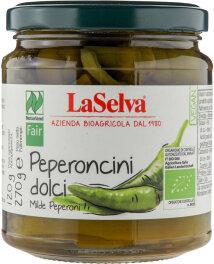 LaSelva Milde Peperoni in Weinessig 270g Bio