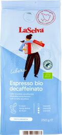 LaSelva Espresso ganze Bohnen koffeinfrei 500g