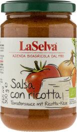 LaSelva Tomatensauce mit Ricotta-Käse 300g Bio