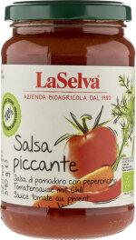 LaSelva Salsa Piccante Tomatensauce Chili 340g