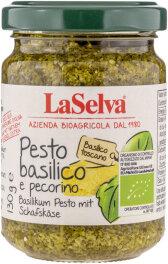 LaSelva Basilikum Pesto mit Schafskäse, 100% natives...