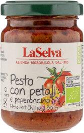 LaSelva Pesto mit Chili & Blüten 130g