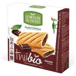 Le Moulin du Pivert Twibio mit Schokoladefüllung 150g