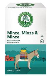 Lebensbaum Minze, Minze & Minze 30g