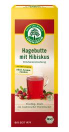 Lebensbaum Hagebutten-Tee mit Hibiskus 20x 2,5g