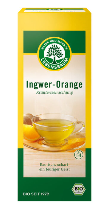 Lebensbaum Ingwer Orange 20x 2g