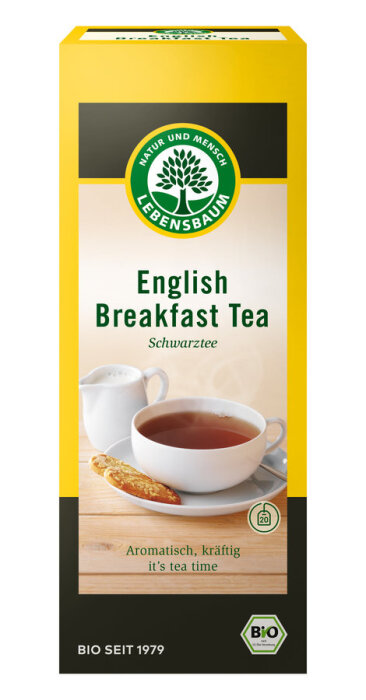 Lebensbaum English Breakfast Tea 40g