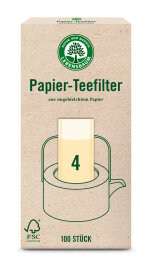 Lebensbaum Papierteefilter Größe 4