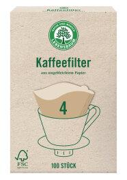 Lebensbaum Kaffeefilter Papier Gr. 4 0,22kg