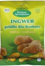 Liebharts Gesundkost Ingwer-Bonbons, bio 100g