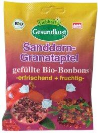 Liebharts Gesundkost Bio-Bonbon Granatapfel-Sanddorn 100g