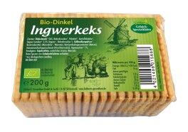 Liebharts Gesundkost Dinkel-Ingwerkeks 200 g