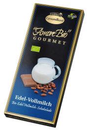 Liebharts Gesundkost Bio-Vollmilch-Schokolade 100g