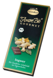 Liebharts Gesundkost Bio-Ingwer-Zartbitter-Schokolade 100g