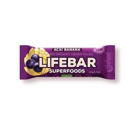 Lifefood Lifebar plus - Açai & Banane 47g Bio