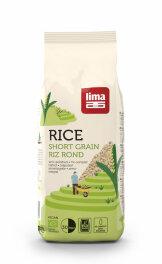 Lima Rundkorn-Reis geschält 1kg Bio