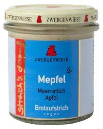 Zwergenwiese Bio Streichs drauf Mepfel 160g
