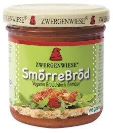 Zwergenwiese Bio SmörreBröd Gemüse 160g