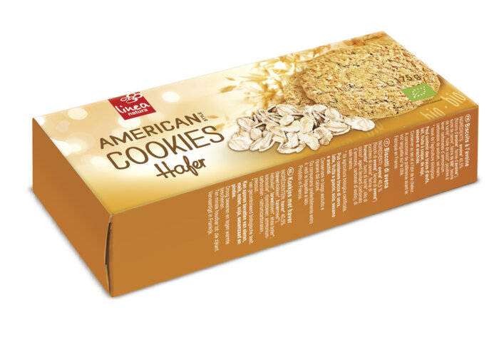 Linea Natura American Hafer Cookies 175g