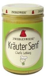 Zwergenwiese Bio Kräuter Senf 160g