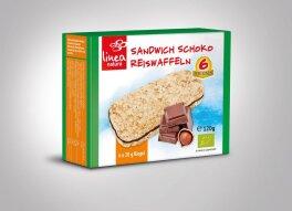 Linea Natura Sandwich Schoko Reiswaffeln 120g