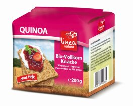 Linea Natura Quinoa Vollkorn Knäcke 200g Bio