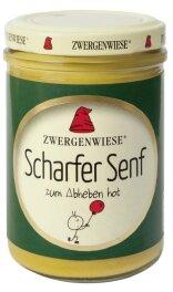 Zwergenwiese Bio Scharfer Senf 160g