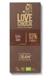 Lovechock Tafel Pur 93% 70g