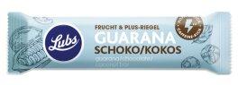 Lubs Guarana Schoko Kokos Fruchtriegel 40g Bio