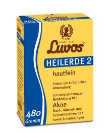 Luvos Heilerde 2 hautfein 480g