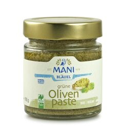 Mani Bläuel Grüne Olivenpaste 180g