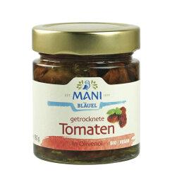 Mani Bläuel Getrocknete Tomaten in Olivenöl 180g