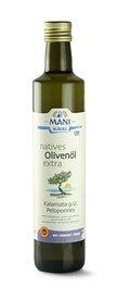 Mani Bläuel natives Olivenöl extra, Kalamata...