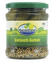Marschland Naturkost Bärlauch-Gurken 320ml Bio