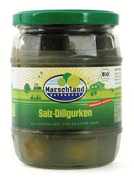 Marschland Naturkost Salz-Dillgurken milchsauer vergoren...