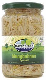 Marschland Naturkost Mungbohnen Sprossen 330ml Bio