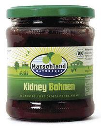 Marschland Naturkost Kidneybohnen 330ml Bio