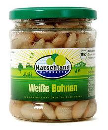 Marschland Naturkost Weiße Bohnen 330ml Bio