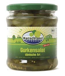 Marschland Naturkost Gurkensalat dänische Art 330ml Bio