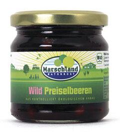 Marschland Naturkost Wild Preiselbeeren 220ml Bio