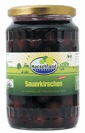 Marschland Naturkost Sauerkirschen 680ml Bio