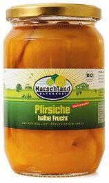 Marschland Naturkost Pfirsiche halbe Frucht 680ml Bio