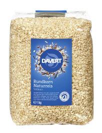 Davert Rundkorn Reis, Vollkorn 1kg