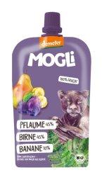 Mogli Trink Obst Pflaume, Birne, Quitte 100g Bio