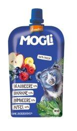 Mogli Trink Obst - Apfel, Blaubeere, Himbeere 100g Bio