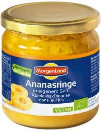 Morgenland Ananas Ringe 388ml