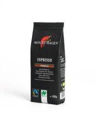 Mount Hagen Espresso gemahlen 250g