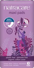 Natracare Maxi Binden für die Nacht 10 Stück
